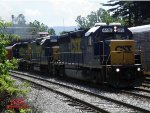 Rock Train Coming Out Of Connellsville Yard