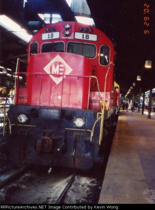 Morristown & Erie Railway #18