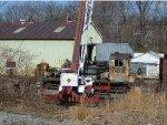 Amtrak SW1200 559 under heavy overhaul