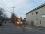 NS 3010 leads the Morristown & Erie Toys For Tots Train