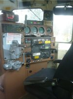 Cab of NS GP38-2 5620