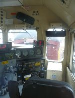 Cab of NS GP40-2 3010