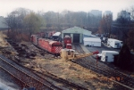 Morristown & Erie Railway shop and yard