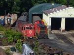 Morristown & Erie Railway shops