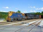 "NECR 3847 Burlington Electric ""Woodchip Train"""