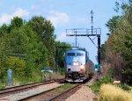 "Amtrak 61 Train 68 ""Adirondack"" on the CP (D&H) Main"