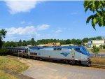 "Amtrak 106 Train 68 ""Adirondack"" on the CP (D&H) Main"