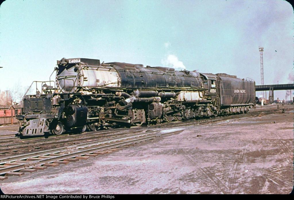 UP 4004 - 4-8-8-4 Big Boy in 1955
