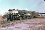 UP 4004 - 4-8-8-4 Big Boy in 1955