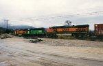 BNSF 1106 Mid-train helpers