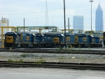CSX 6962(GP40-2) HLCX(SD4-2) 2363(ROAD SLUG) 6963(GP40-2) 2362(ROAD SLUG)