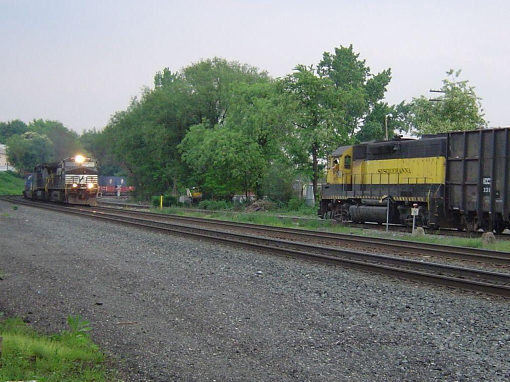 Northbound Intermodal