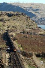 Loaded Coal train at Maryhill