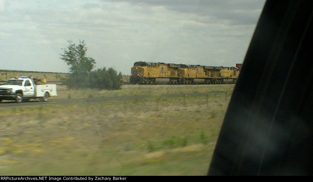 Westbound UP Stack Train