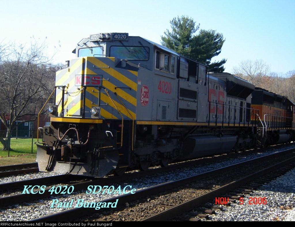 KCS 4020   SD70ACe     11/09/2006