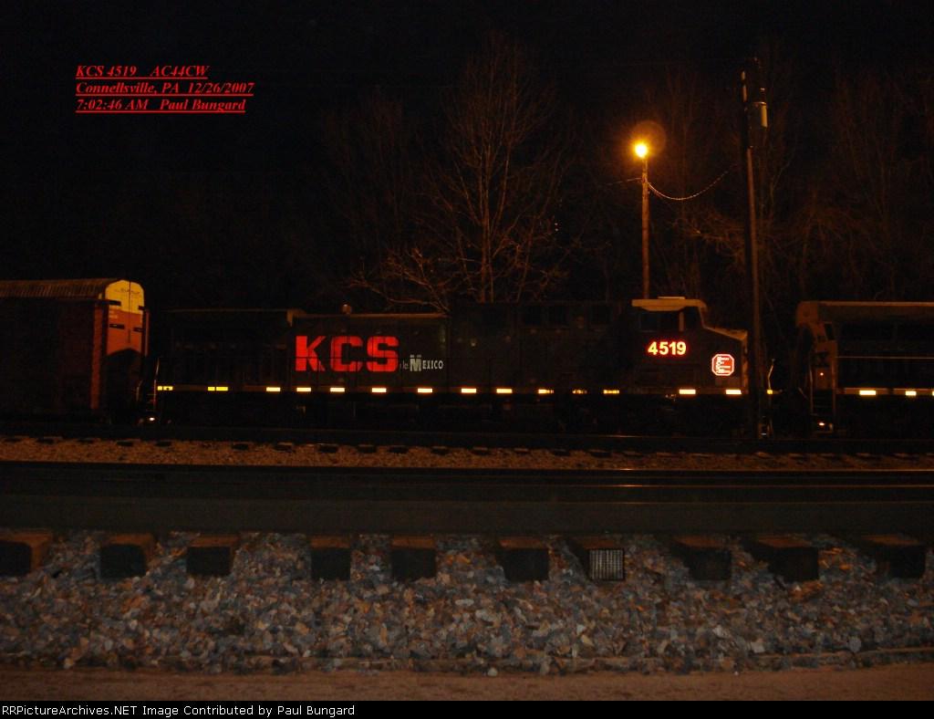 KCS 4519  AC44CW    Dec 26, 2007