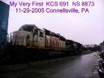 KCS 691        SD40-2        11/29/2005