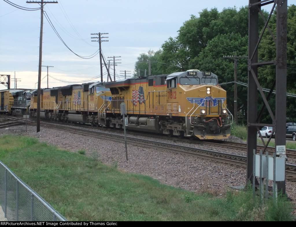 UP 7812 east