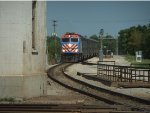 Metra Train #515 approaches Joliet