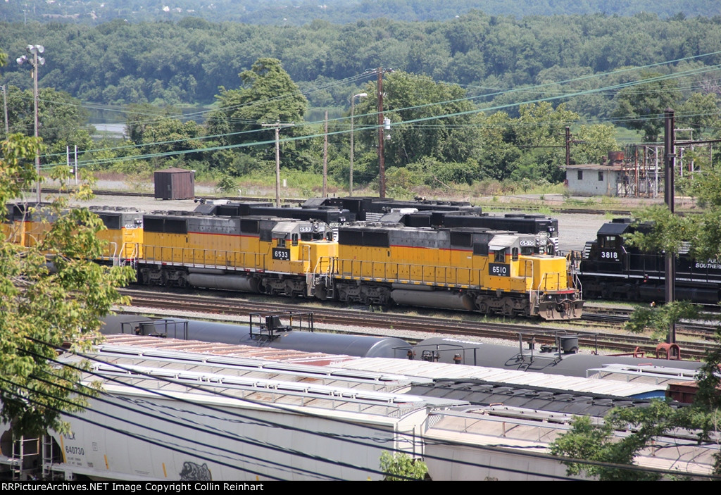 Stored SD60s and SD38s
