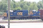CSX GP15T #1505 and CSX MP15AC #1167
