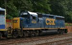 CSX GP40-2 4422 on the rear of O033-14