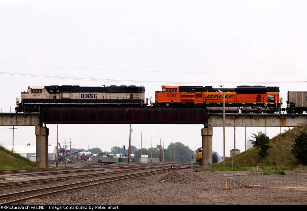 BNSF9793 and BNSF9392