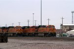 BNSF6094, BNSF9178, BNSF6020 and others