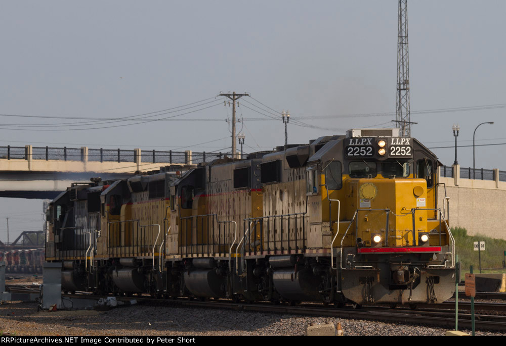 LLPX2252, UP716, UP3198 and SP2057