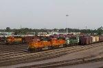 BNSF8214, BNSF8245, BNSF8171, BNSF8193 and BNSF1804