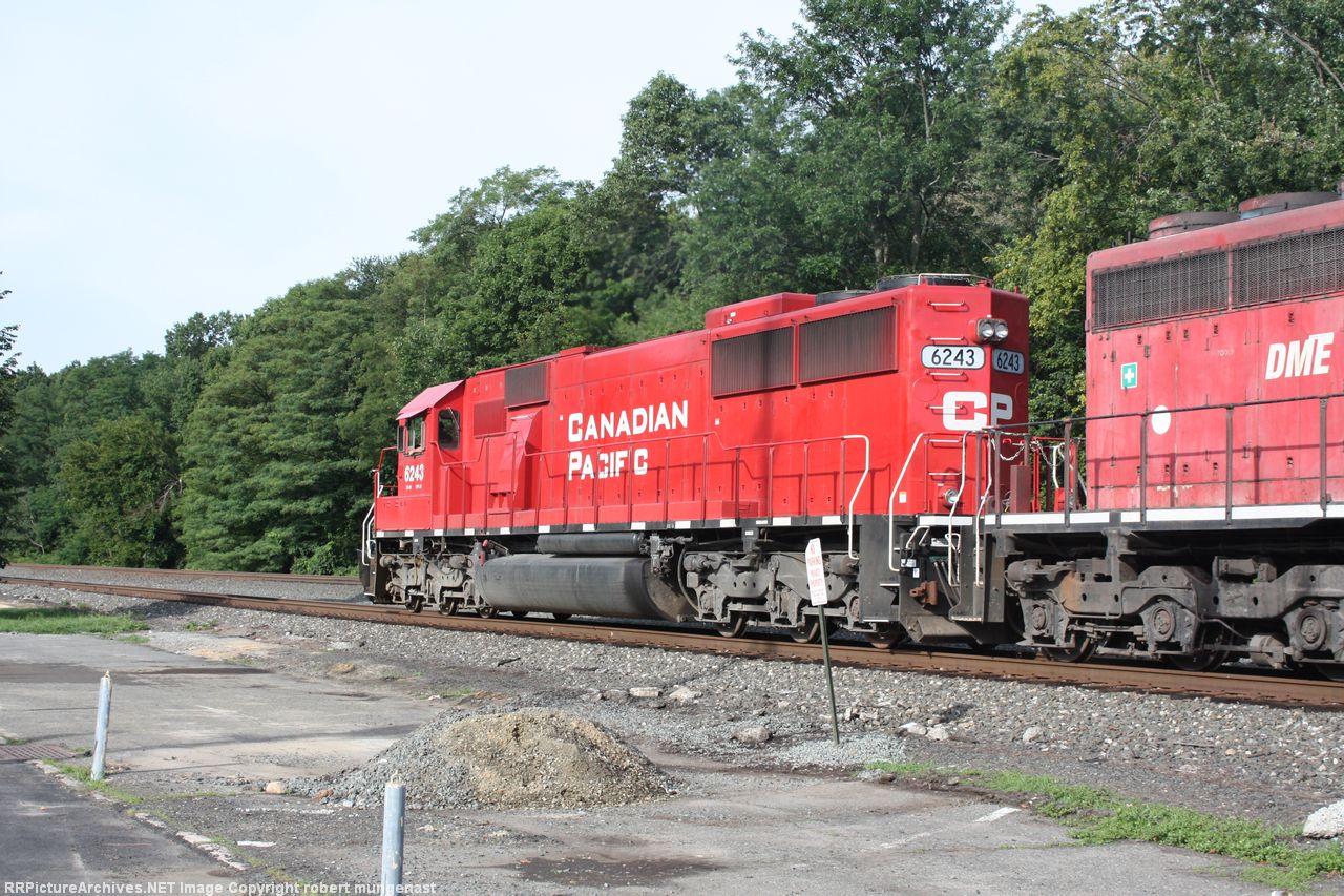 ethanol train south 10 am