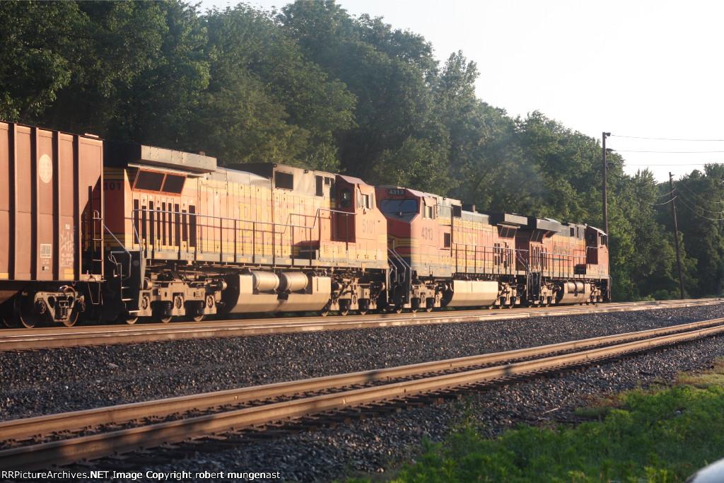 k 041empty oil train north 6;20 AM