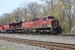 k 419 nb ethanol train empty 11:55 am