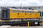 UP 949, EMD E9A, at the North Carolina Transportation Museum during the Streamliners at Spencer event