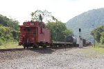CSX Q433 with a Caboose on the end !