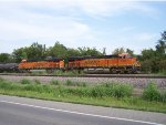 BNSF 6869 & 6945 sitting idle at Halls,MO