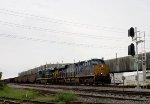 CSX 959 3057 pass Kimberley Clark plant Mobile AL
