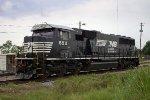 NS 6911 in NS yard