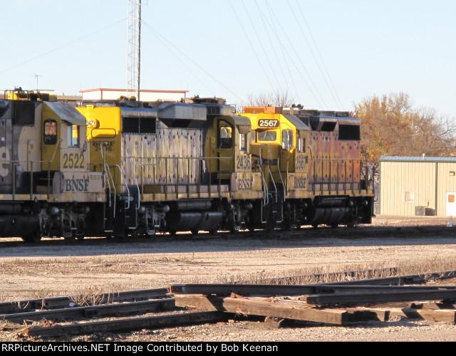 BNSF 2436 & 2567