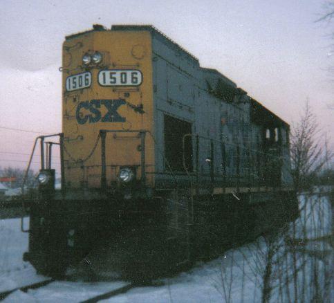 CSX GP15T 1506