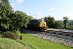 CSX Q260 Autorack Train