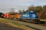 NS 20G With Two BNSF Locomotives @ 0922 hrs