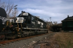 NS H65 at CP PHILLIPSBURG @ 1136 hrs.