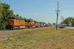 BNSF 4189 leads this NB freight with some great power.