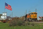 BNSF 9915 is seen 1 more time.