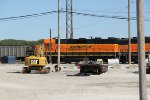 BNSF 2929 sits in the west quincy yard.