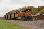 BNSF 6321 runs dpu on a sb coal.