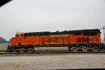 BNSF 7338 sits dead at old monroe.