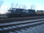 NS 2680 Rests with HLCX 5945 After Christmas