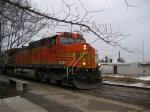 BNSF 4188 goes east